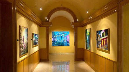 Press: Louisiana's Van Gogh: The Illuminating Works of James Michalopoulos, November 26, 2019 - Cayman Clevenger, Bayou Brief